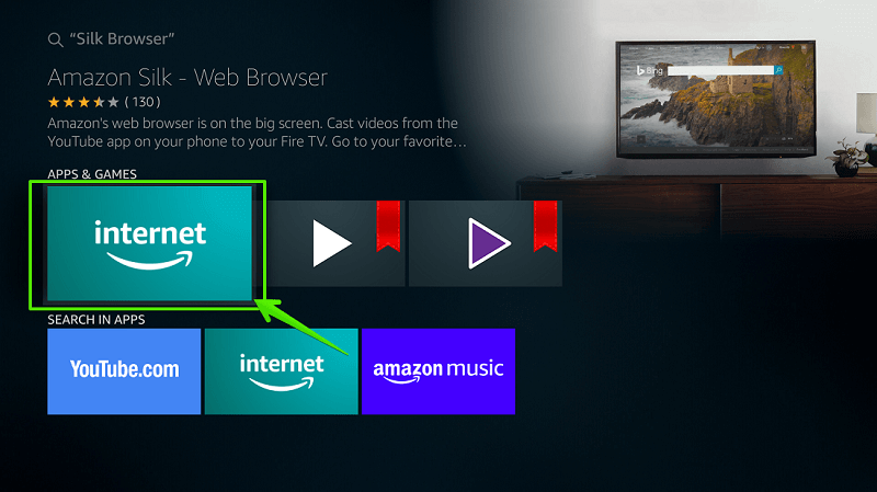 Browser for Fire TV