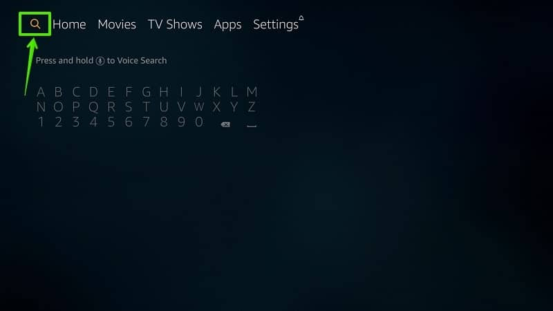 Firestick App Search