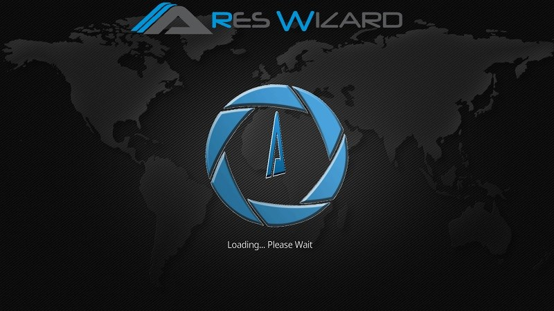 Ares Wizard is Loading