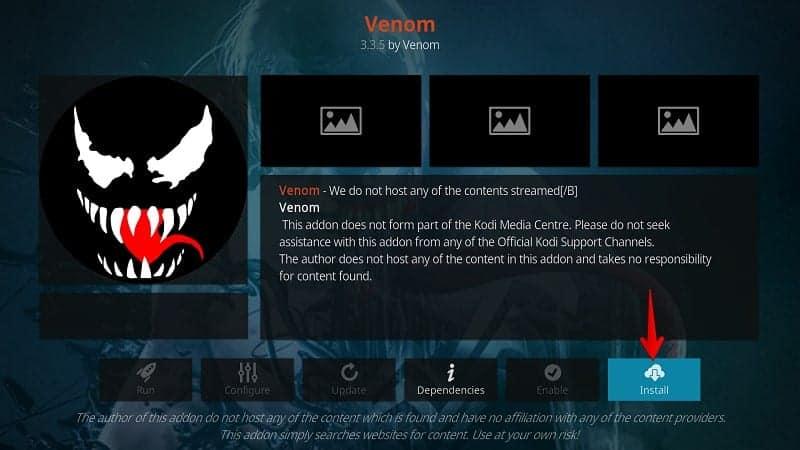 Venom Exodus Fork