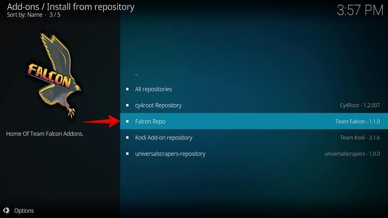 Falcon Repository