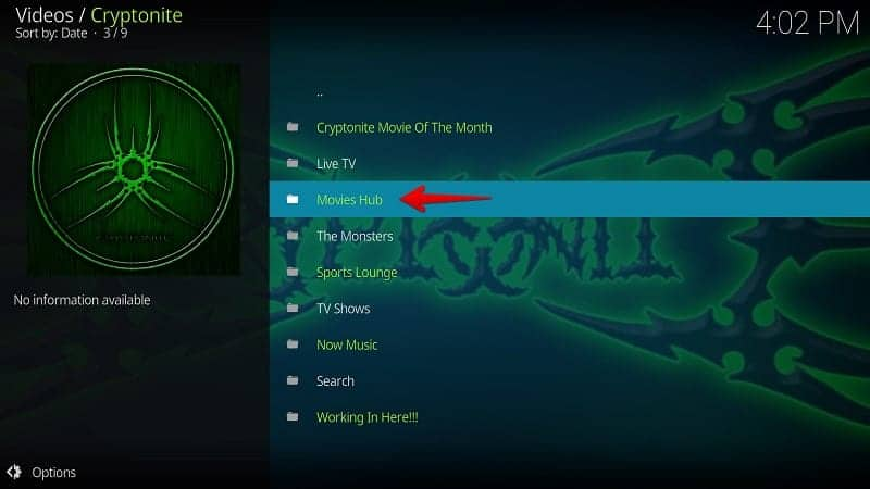 Watch Cryptonite on Kodi