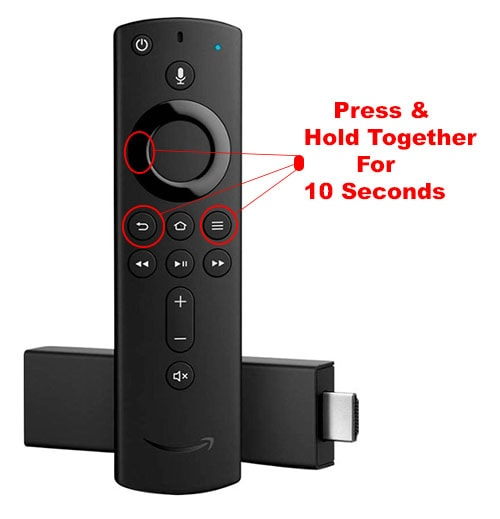 Reset Firestick Remote