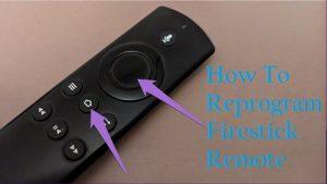 How To Reprogram Firestick Remote
